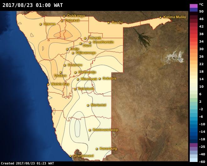 dating namibia walvis bay weather